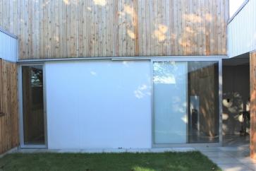 Jack Grass courtyard doors