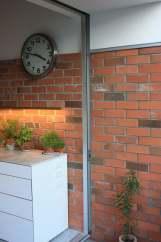 Jack Kitchen slider brick detail